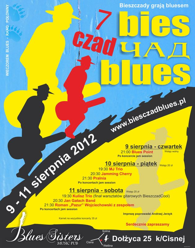 Bies Czad Blues 2012 – termin